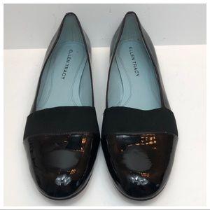Ellen Tracey Black Patent Leather Shoes Size 7.5